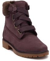 "Timberland Jayne 6"" Genuine Sheepskin Fur Boot"
