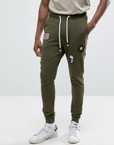 Only & Sons Joggers With Badge Detailing
