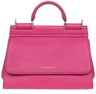 Dolce & Gabbana Fuchsia Soft Sicily Bag S