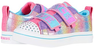 Skechers Twinkle Toes - Twi-Lites 2.0 Sparkle Vibes 314545L (Little Kid/Big Kid) (Multi) Girl's Shoes