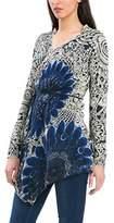 Desigual Women's Jers_rocío Long Sleeve Cardigan