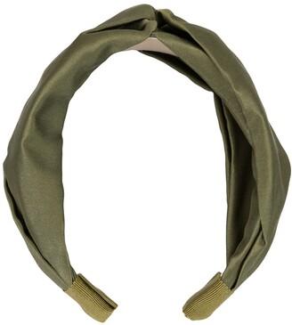 Jennifer Behr Twist silk headband
