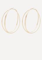 Bebe Triple Hoop Earrings