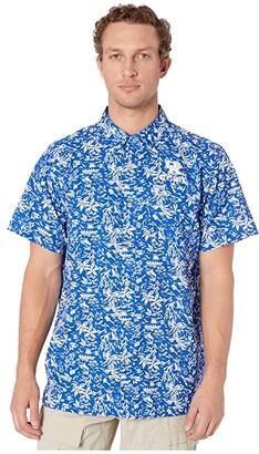 Columbia College Kentucky Wildcats CLG Super Slack Tidetm Shirt (Azul) Men's Clothing