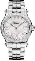 Chopard Happy Sport Diamond & Stainless Steel Bracelet Watch
