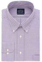 Eagle Men's Big and Tall Classic-Fit Stretch Collar Non-Iron Check Dress Shirt