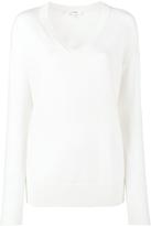 Frame Oversized V-Neck Sweater