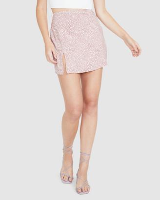 Alice In The Eve Lana Bias Cut Mini Skirt