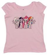 My Little Pony Toddler Girls' Short Sleeve T-Shirt - Pink