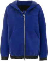 Ilaria Nistri zipped hooded jacket