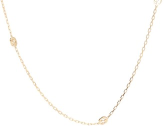 Gucci Interlocking G 18kt gold necklace