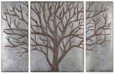 Uttermost 3-Pc. Winter View Rustic Tree Wall Art Set