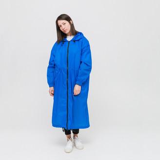 Dr. Denim W - Electric Blue Paloma Parka Jacket - M - Blue