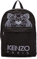Kenzo Black Tiger Logo Backpack