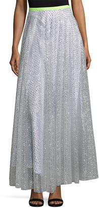 Manoush Jupe Glitter Lace Skirt