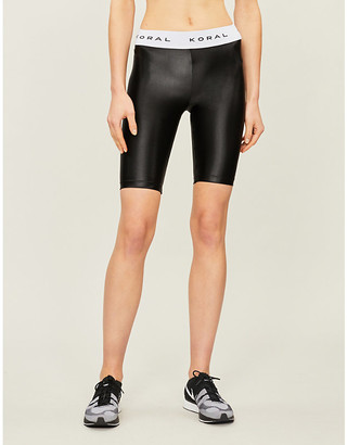 Koral Infinity stretch-jersey shorts