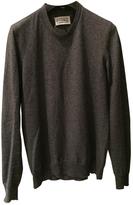 Maison Margiela Grey Cotton Knitwear Sweatshirt