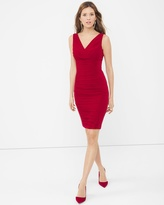 White House Black Market Instantly Slimming Ruched Dress