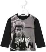 Dolce & Gabbana James Dean print top - kids - Cotton - 3-6 mth