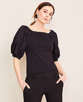 Ann Taylor Balloon Sleeve Top