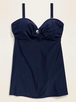 Old Navy Secret-Slim Plus-Size Underwire Swim Dress