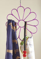 ModCloth Blooming Utility Scarf Hanger in Purple