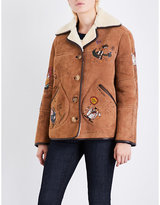 Burberry Sketch Shearling Jacket
