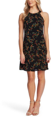 CeCe Blustery Buds Sleeveless Shift Dress