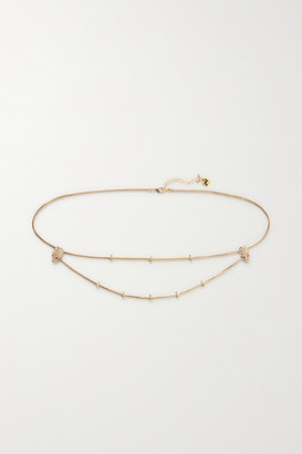 Rosantica Giza Gold-tone Crystal Belt - one size