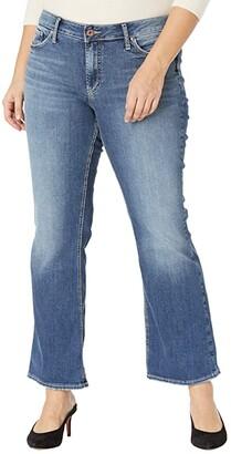 Silver Jeans Co. Plus Size Suki Mid-Rise Curvy Fit Bootcut Jeans W93719EGX210 (Indigo) Women's Jeans