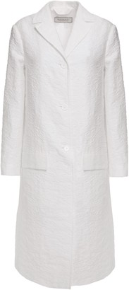 Nina Ricci Cotton- Blend Cloque Coat