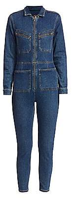 Free People Women's Lennox Denim Jumpsuit