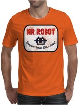 TopLAD Mr Robot - Computer Repair With A Smile Mens T-Shirt /