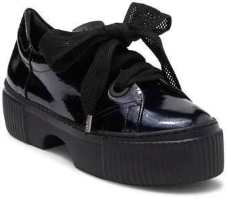 Attilio Giusti Leombruni Patent Oxford Platform Sneaker