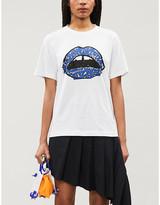 Markus Lupfer Alex giraffe-print cotton-jersey T-shirt