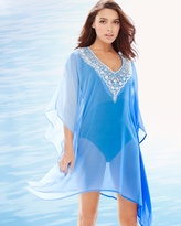 Soma Intimates Embellished Ombre Tahiti Swim Cover Up