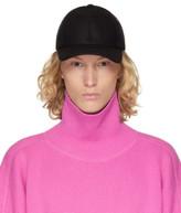 Ami Alexandre Mattiussi Black Wool Cap