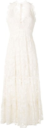 Alexis Havana lace cotton dress