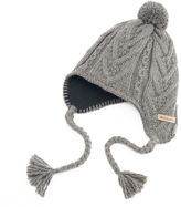 Columbia Women's Cable-Knit Pom Pom Hat