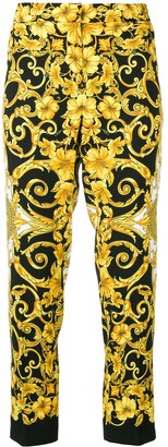 Versace Printed Tailored Trousers