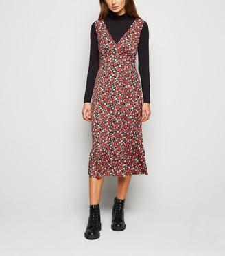 New Look Urban Bliss Floral Midi Dress