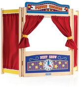 The Well Appointed House Guidecraft Wooden Tabletop Puppet Theater for Children -