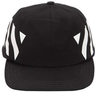 Off-White Off White PRINTED COTTON CANVAS BASEBALL HAT