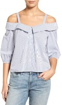 Women's Chelsea28 Poplin Off The Shoulder Top