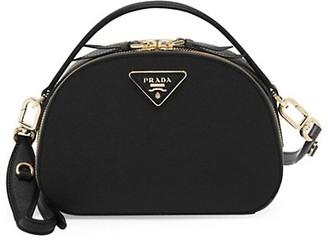 Prada Odette Leather Top Handle Bag