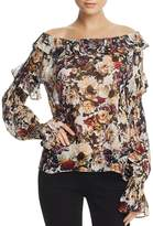 Bailey 44 Floral-Print Off-the-Shoulder Top