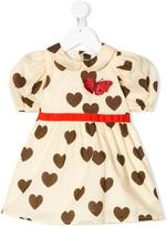 Mini Rodini hearts puff dress