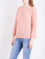 MiH Jeans Ladies Pale Rose Knitted Bowen Sweater