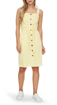 Vero Moda Sleeveless Twill Dress