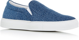 Joshua Sanders Denim Slip On Sneakers